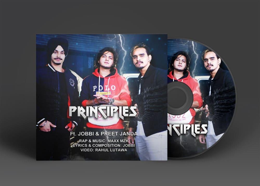 Principles Album Art Cover Design