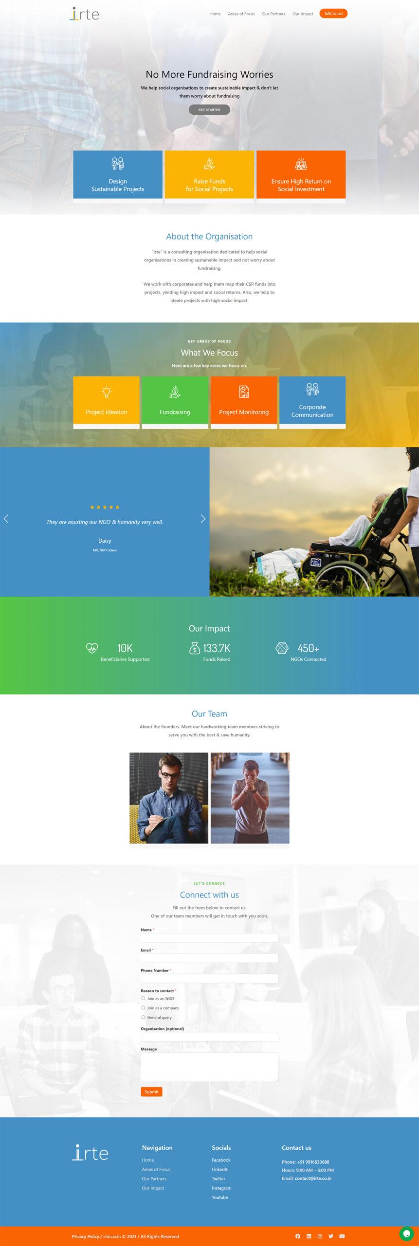 IRTE website